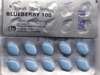 Blueberry 100 Pills Review: ED Drug from an Uncertified Manufacturer