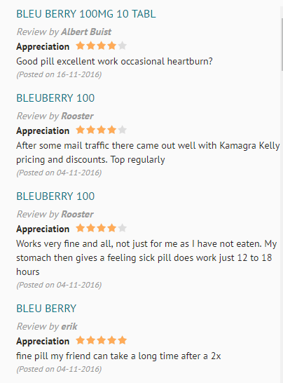 Blueberry Reviews