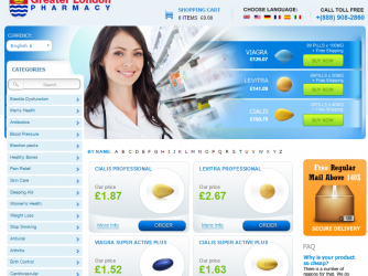 Greaterlondonpharmacy.com – Don't Trust a Store with a Zero Trust Rating!