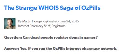 Ozpills.com Feedback