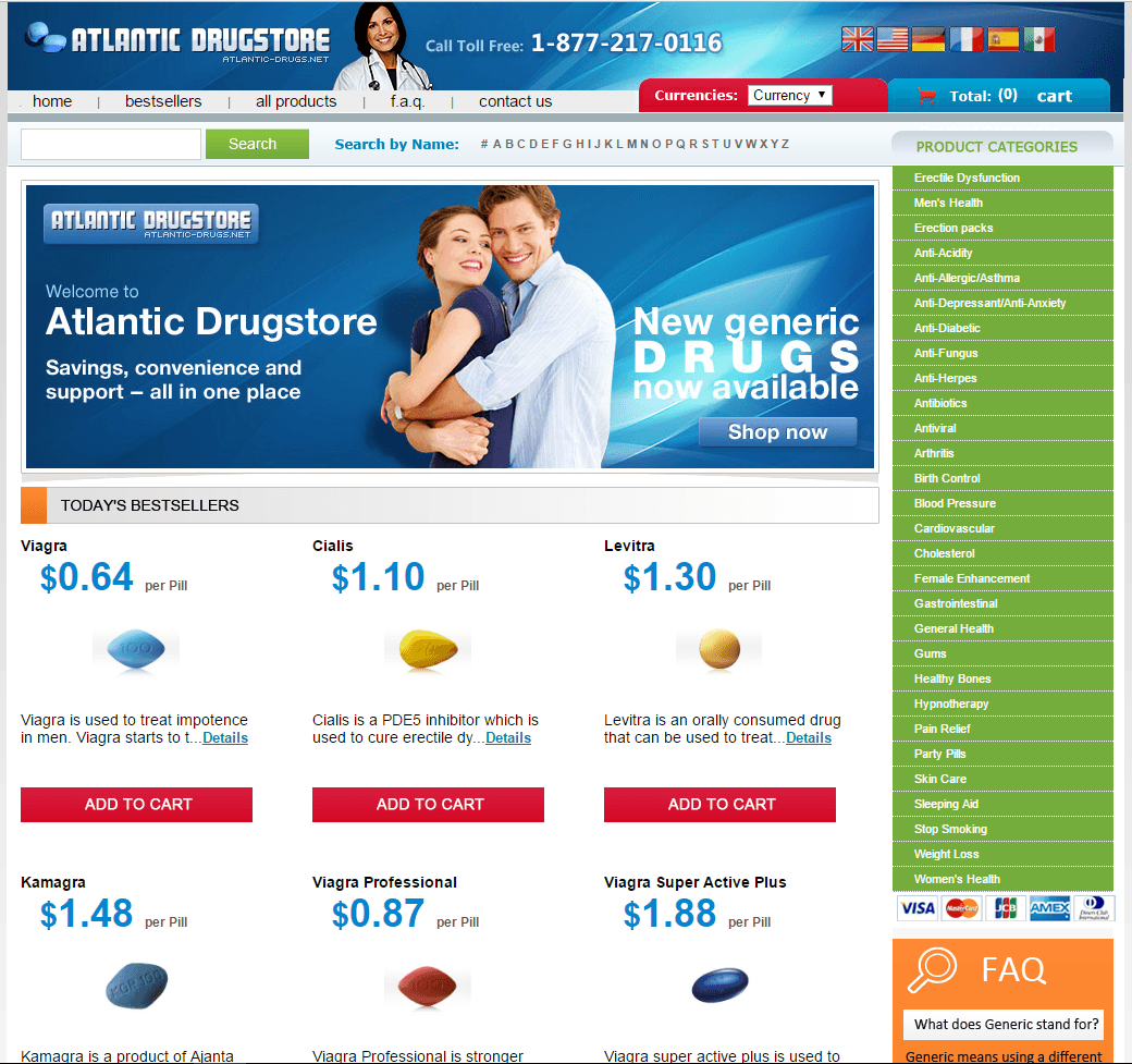 Atlantic-drugs.net Main Page