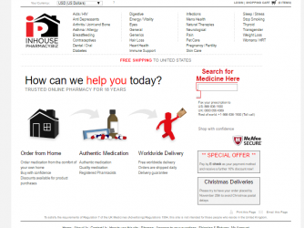 Inhousepharmacy.biz Review – A Reasonable Online Pharmacy That Suddenly Disappeared