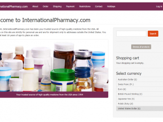 InternationalPharmacy.com Review – Overpriced Online Pharmacy