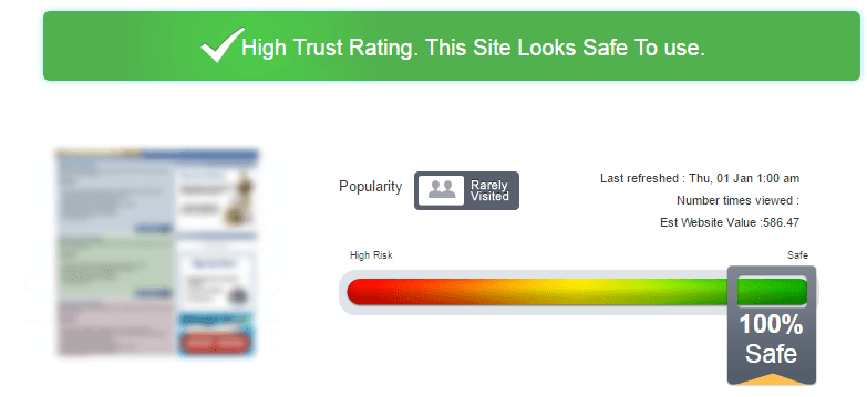 Eplanetshopping.com Trust Rating