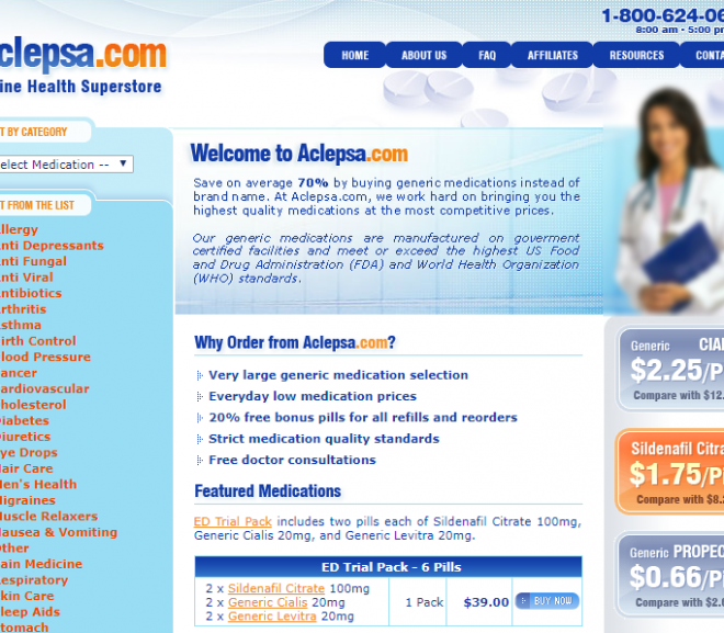 Aclepsa.com Review – A Scam Website That You Are Better Off Not Using