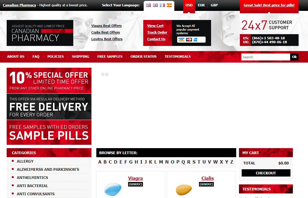 Canadaok-pharmacy.net Main Page