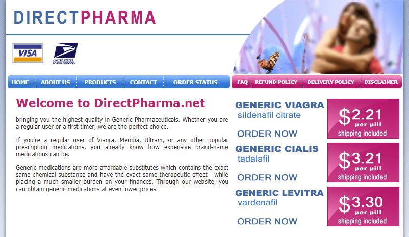 Directpharma.net Main Page
