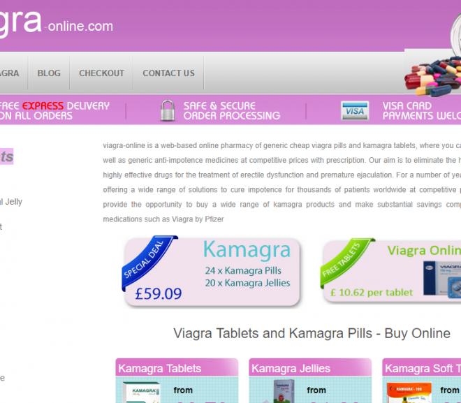 Viagra-online.com Review – Inoperative Online Viagra Store Included Kamagra, Viagra, and Levitra