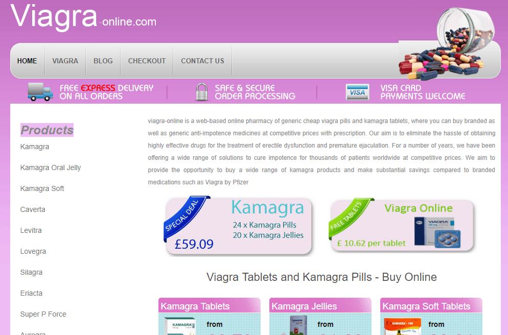 Viagra-online.com Main Page