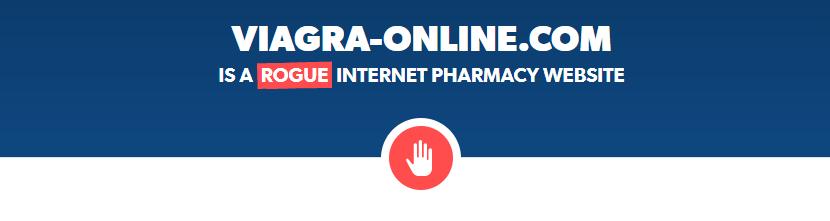 Viagra-online.com is a Rogue Internet Pharmacy