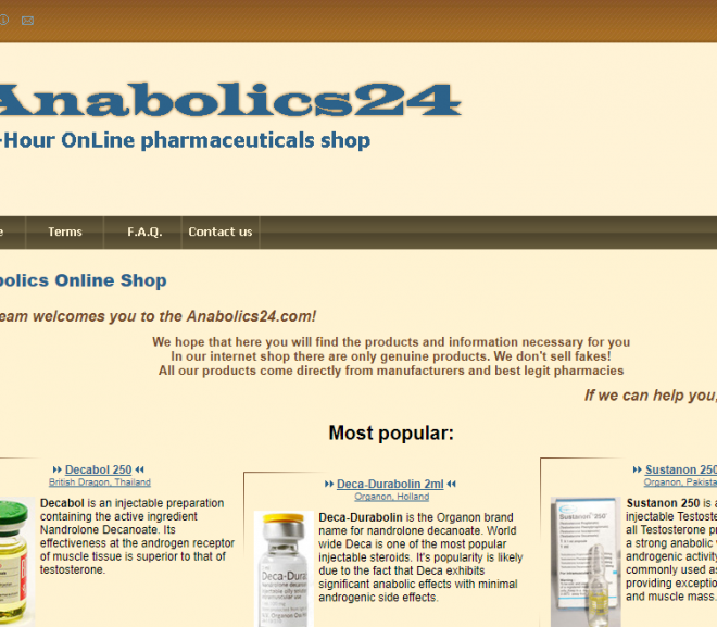 Anabolics24.com Review – Steroid e-Store with Negative Reviews and a Rogue Status