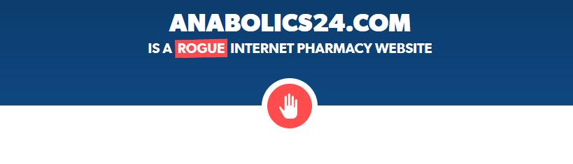 Anabolics24.com is a Rogue Website