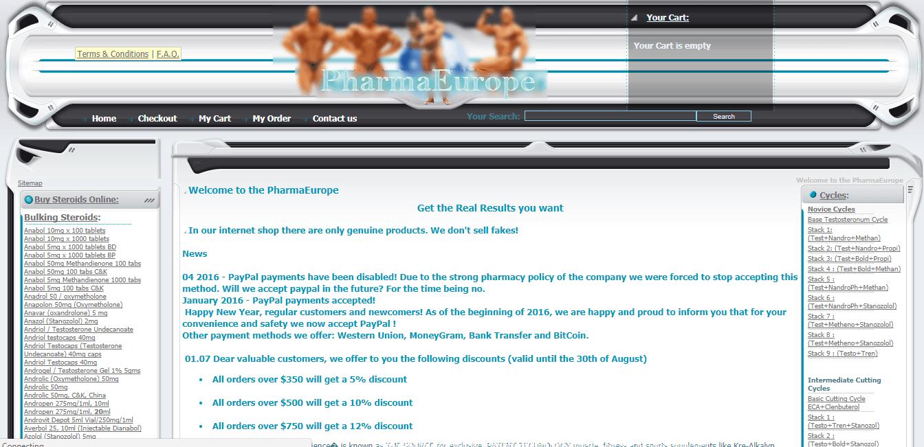 Pharmaeurope.net Main Page