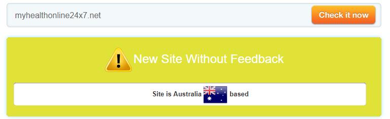 Myhealthonline24x7.net Trust Rating