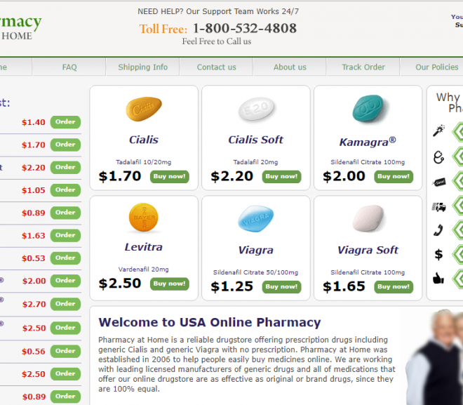 Pharmacyathome.com Review – A Fraudulent Website That Got Terminated