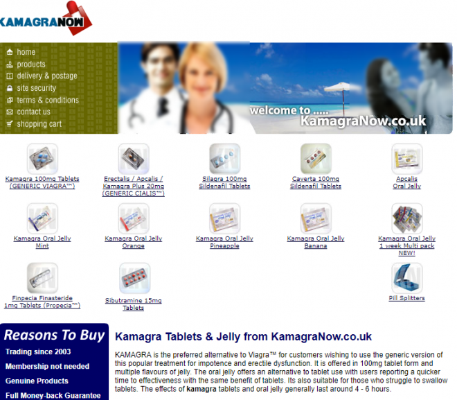 Kamagranow.co.uk Review – Virtual Drug Store with Incompetent Staff and Poor Rates