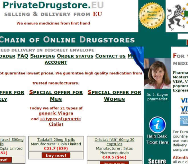 Privatedrugstore.eu Review – Online Store with Unhappy Customer Reviews