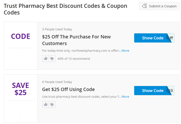 Coupon Code Samples