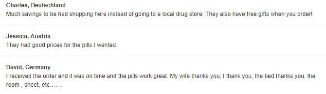 Trust Pharmacy Customer Reviews