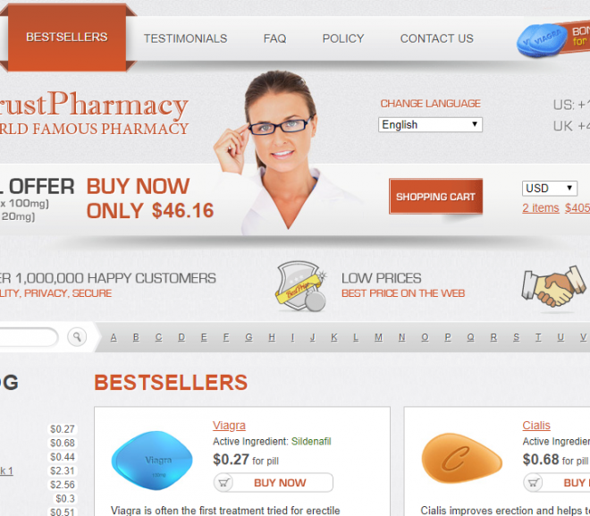 Trust Pharmacy Review – A 5-Star Pharmacy Network with over 1,000,000 Satisfied Customers