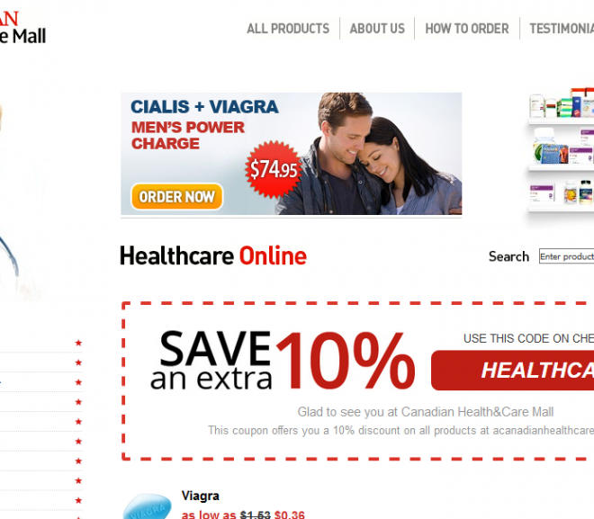 Canadian Health and Care Mall Review – Online Drugstore Network with an Excellent Selling History