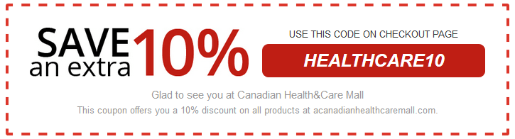Canadian Health and Care Mall Coupon Offer