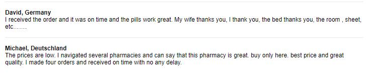 Customer Reviews for Cheap Pills