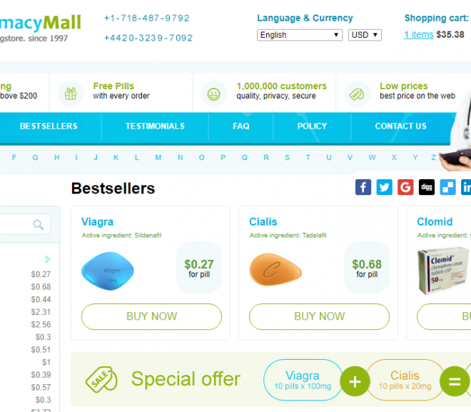 Cheap Pills Review: When We Say Reliable Online Pharmacy – We Mean Cheap Pills
