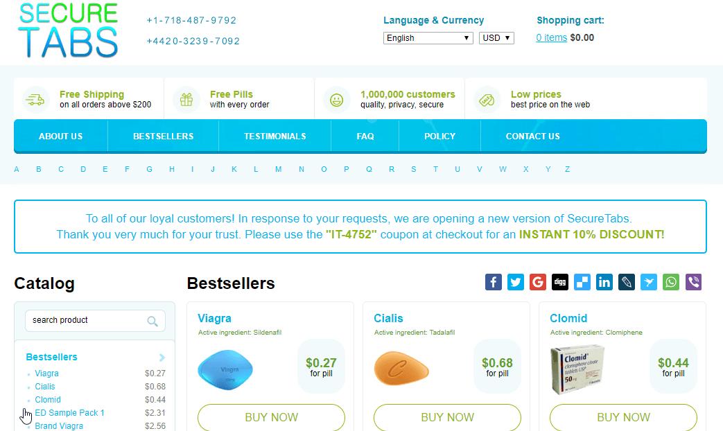 Mysecuretabs Homepage
